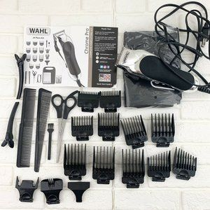 Wahl Chrome Pro Multi Cut Clipper Haircut Kit